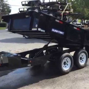Sure-Trac Low Profile Dump Trailer